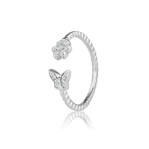 Ring - Open Butterfly