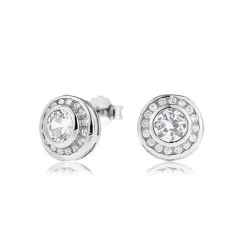 Earrings - Round Stones