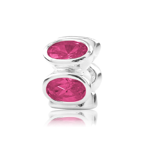 Oval - Italian Pink