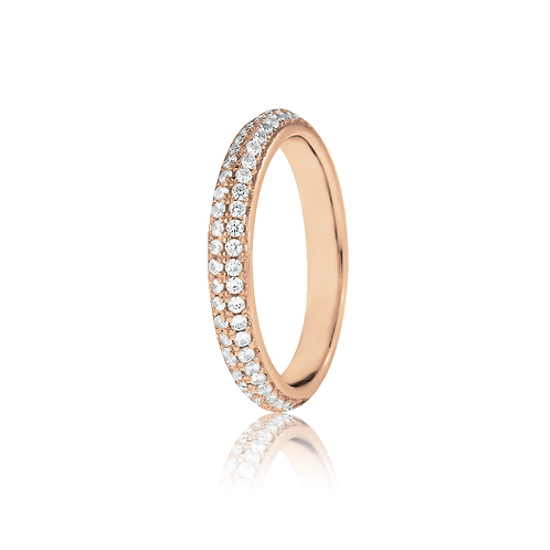Ring - Rose Pavé