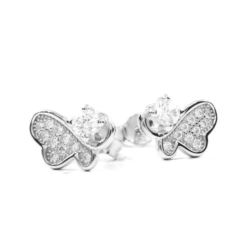 Earrings - Abstract Butterflies