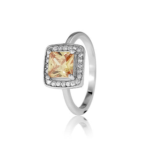 Ring - Champagne Stone