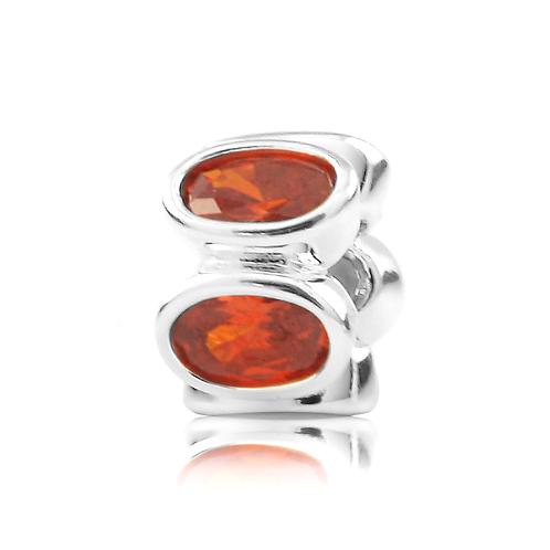 Oval - Blaze Red