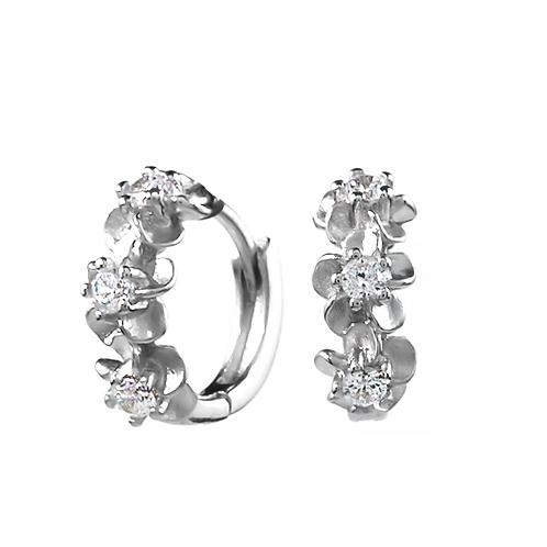Earrings - Triple Daisy