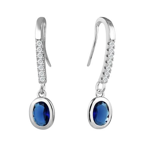 Earrings - Sapphire Opulence
