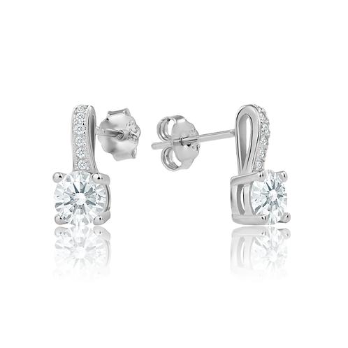 Earrings - Silver Elegance