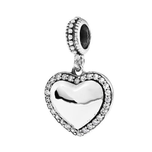 Heart Shimmer Drop