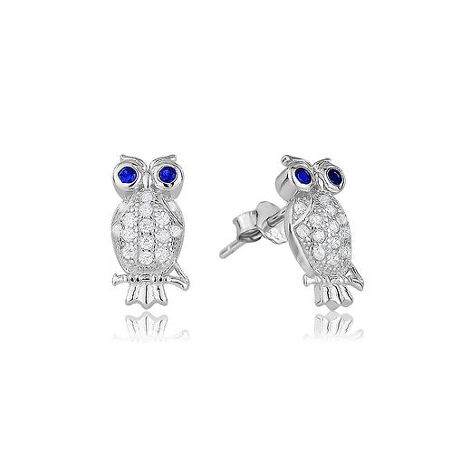 Earrings - Owls