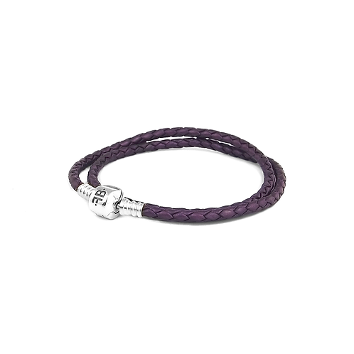 Double Leather - Purple