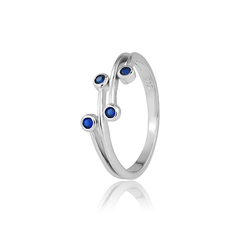 Ring - Sapphire Spots