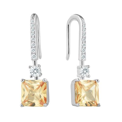 Earrings - Champagne Elegance