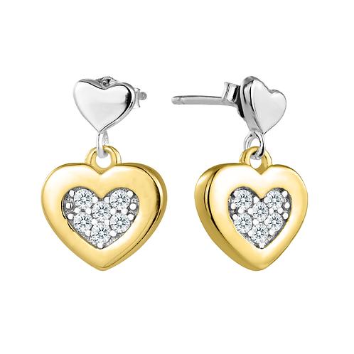 Earrings - Gold Hearts