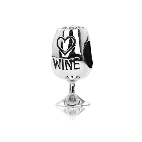 Wine Glass -White