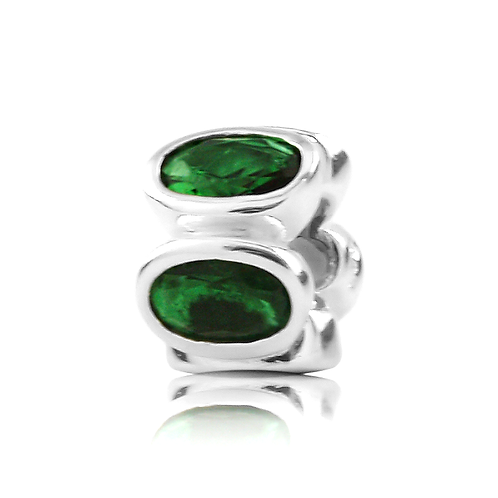 Oval - Emerald Green