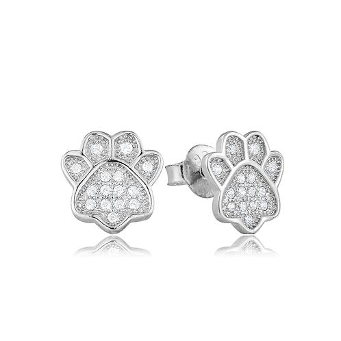 Earrings -Crystal Paws