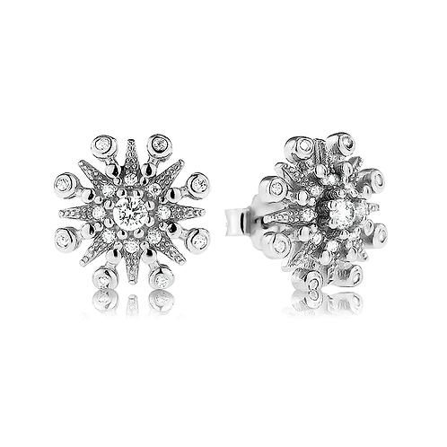 Earrings - Shimmering Flakes