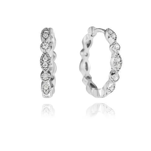 Earrings - Elegant Hoops