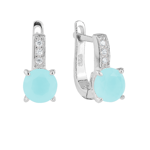 Earrings - Larimar