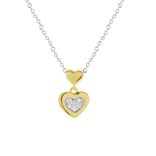 Pendant - Gold Heart