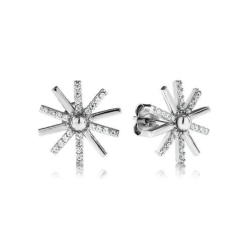 Earrings - Pin Wheels