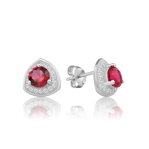 Earrings - Regal Ruby