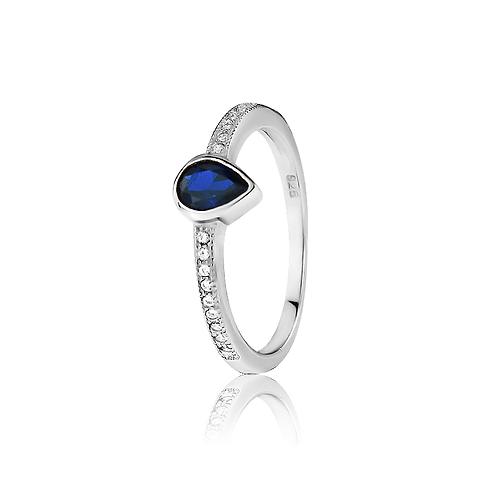 Ring - Sapphire Teardrop