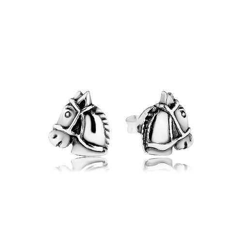 Earrings - Horse Heads