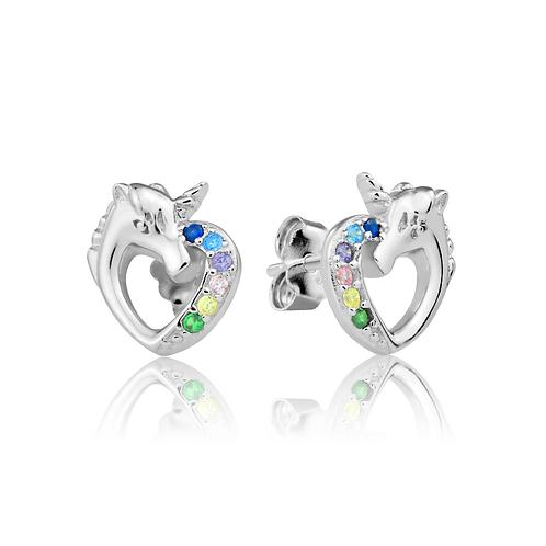 Earrings - Rainbow Unicorns