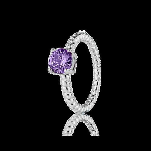 Ring - Purple Stone