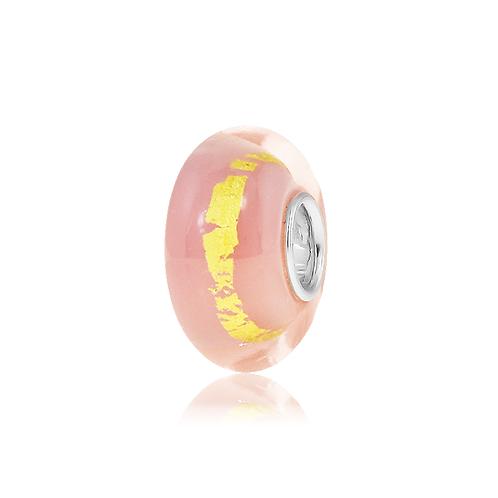 Golden Pink Glitz