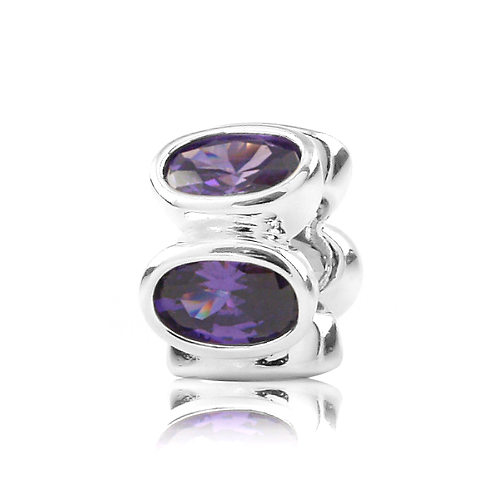 Oval - Purple