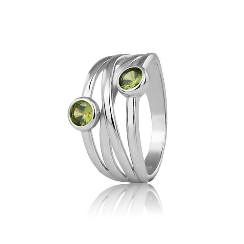 Ring - Olive Droplets