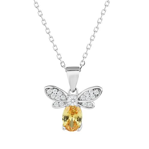 Pendant - Amber Bee