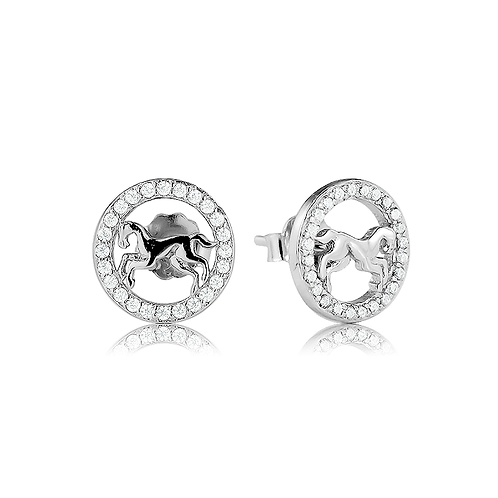 Earrings - Horses