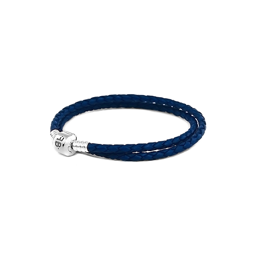 Double Leather - Navy
