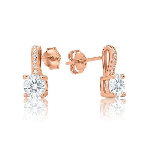 Earrings - Rose Elegance