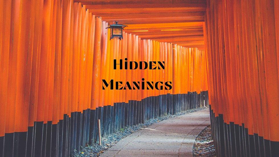 Hidden Meanings (Single)