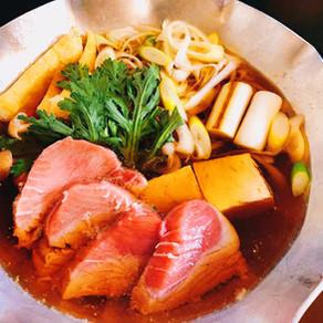 つゆまで美味しい「ねぎま鍋」をご自宅で!!