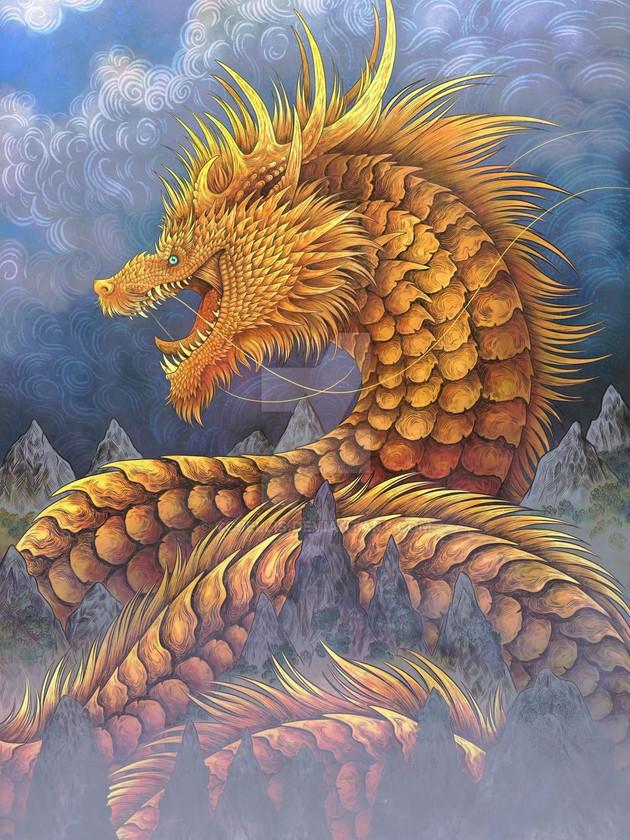 huang he river dragon