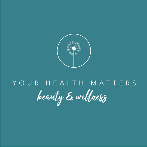 Your Health Matters White Logo Green bac