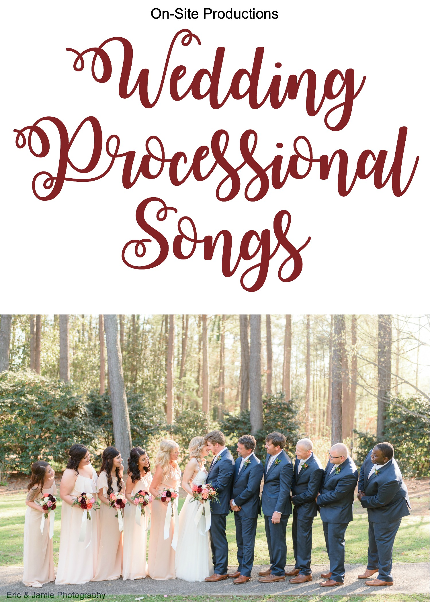 Wedding Processional Songs.Wedding Processional Songs A Playlist Wedding Dj Wedding Lights