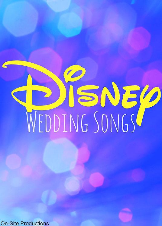 Disney Wedding Songs.Disney Fantasydisneyworld
