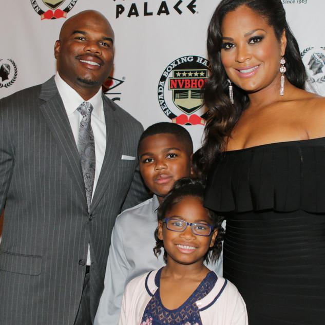 Laila Ali and Family