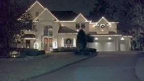 Houston Christmas light instalation