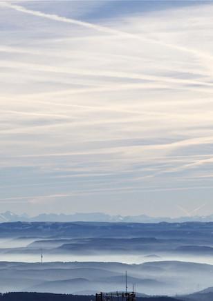 Swiss Alps, view from Hochblauen (Schwarzwald, DE) 2014