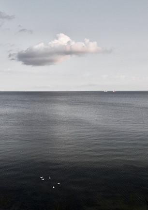 Baltic Sea east of Göhren, Rügen, 2018