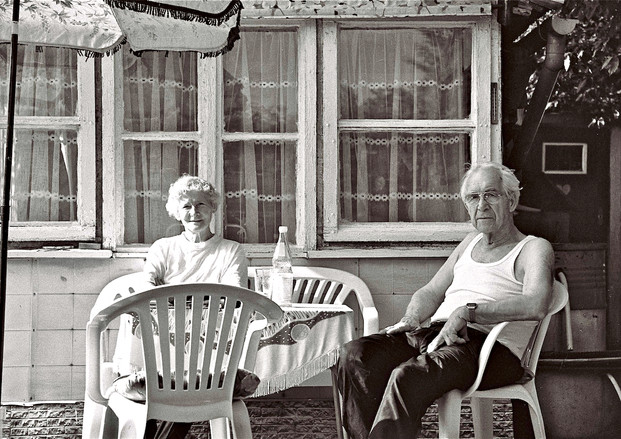 being old in a German allotment