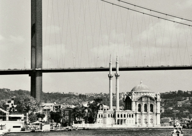 Büyük Mecidiye Camii & Fatih Sultan Mehmet bridge