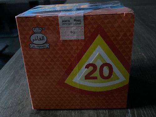 AL FAKHER Tabak 200gr Orange