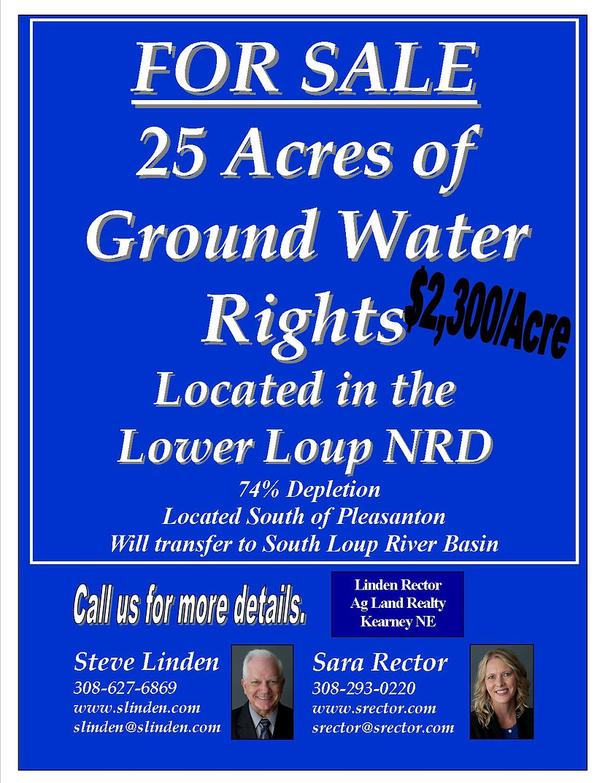 information sheet- water rights Bob hunt